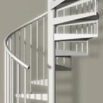 Лестницы винтовые, радиальные