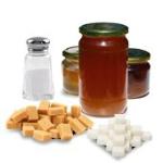Сахар, соль, мед