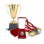 Атрибутика наградная: медали, ордена, награды