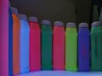 Краски люминесцентные, флуоресцентные