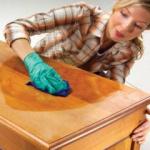 Товары для ремонта и ухода за мебелью