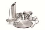 Посуда столовая и кухонная металлическая
