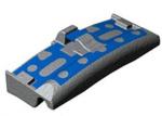 Комплектующие ходовых частей ЖД транспорта