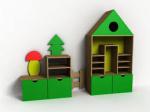 Мебель детская бытовая