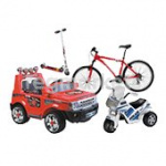 Велосипеды, самокаты и электромобили