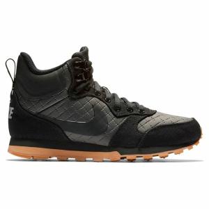56a6b903 Кроссовки женские Nike Women'S Nike Md Runner 2 Mid Premium Shoe 845059-004  высокие черные