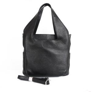 f2ff1b22a647 Женская кожаная сумка черного цвета Giorgio Ferretti 0348 HG01 black GF