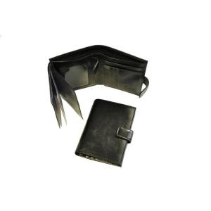 a162be443c00 Портмоне мужское с обложкой для автоправ, кожаное, черное, 133х107 мм