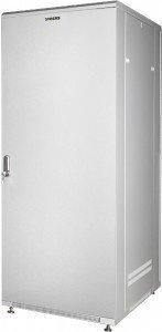 Шкаф телекоммуникационный напольный 19 42U 600x600x2085 мм, металлическая дверь, GYDERS GDR-426060GM