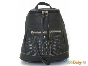 1935dbe154c6 Женские рюкзаки Городской женский рюкзак от David Jones черный [WH00385]