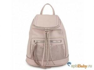 94ca56426f2a Женские рюкзаки Городской женский рюкзак от David Jones pale purple  [WH00385]