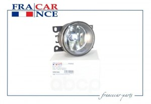 Фара противотуманная (с лампой) renault (logan ph1, megane ii sandero duster) fcr220029 Francecar арт. FCR220029