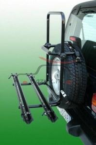 Крепление на запасное колесо Peruzzo Brennero для перевозки 2-х велосипедов