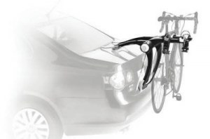 Велокрепление Thule RaceWay 991 на крышку багажника до 2-х велосипедов