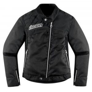 24cbf2c9cfc Icon Hella 2 Textile мотокуртка женская черная (цвет  черные