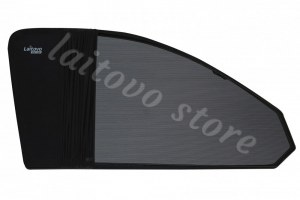 Laitovo Каркасная тонировка на передние двери LADA 21214 1G Внедорожник 3D (2001 - н.в.) Нива - без пластиковой заглушки у зеркала заднего вида