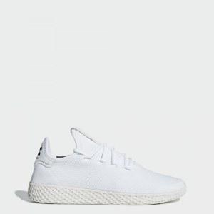 31df08e0 Кроссовки Pharrell Williams Tennis Hu adidas Originals ftwr white / ftwr  white / chalk white