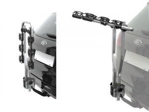 Багажник 0-500667-3 автомобильный на фаркоп, откидной Peruzzo AREZZO, для 3х велосип. (Италия)