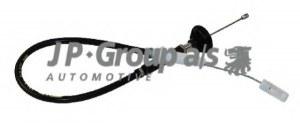 1170200700 JP GROUP Трос, управление сцеплением