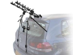 Peruzzo Автобагажник на заднюю дверь VERONA, алюминий, труба D:30 мм, для 3 в-дов весом до 15кг, фиксация велосипеда за верхнюю трубу рамы (max D:60 мм), цвет: серое защитное покрытие, упаковка-термоплёнка