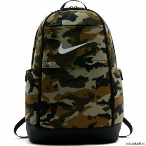 274eb00bbf358 Рюкзак Nike Brasilia (Extra Large) Зелёный Камуфляж