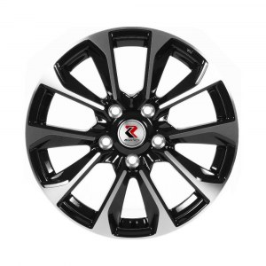 Колесные диски RepliKey RK L1666 Hyundai Creta 6,0R16 5*114,3 ET43 d67,1 BKF [87160207567]