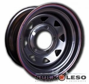 Колесный диск Off-Road-Wheels VW Amarok 7 R16 5x120 ET20.0 D65.1 Black