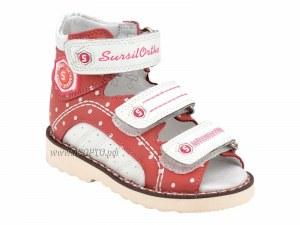 9f9491aab 15-245M Сурсил-Орто (Sursil-Ortho), сандалии детские открытые ортопедические