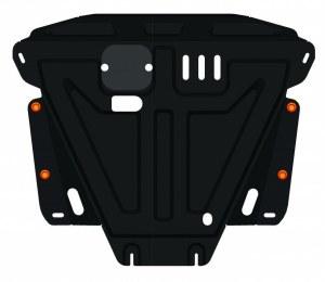 ALFeco Защита картера и коробки передач Great wall Hover H6 (Грейт вол Ховер) 2020-2020 объем двигателя: 1.5 (стальная 2 мм, тип защиты: двигателя, коробки передач, днища, картера) с крепежом