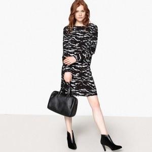 2a1ec83ebaf Платье La Redoute С камуфляжным рисунком декольте сзади