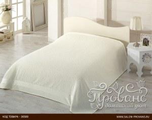 bdc40704620a Махровая простынь-покрывало для укрывания Pupilla Safari махра+велюр бамбук  (кремовый) 200
