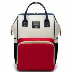ede998048274 Рюкзак для мамы Maitedi (с USB выходом) серый/синий/красный