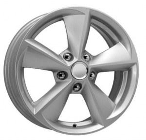 Колесный диск K&K Toyota Corolla 6,5J*R16 5*114,3 ET45 DIA60,1 Сильвер