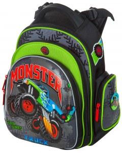 f0a9f71a6e80 Школьный ранец Hummingbird Kids TK44 Monster truck+мешок для обуви
