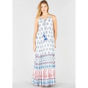 52d693fa895 Платье La Redoute Длинное расклешнное с кашемировым рисунком