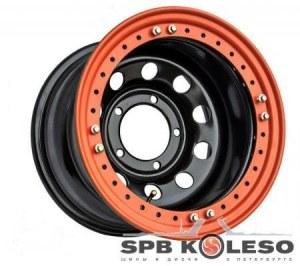 Колесный диск Off-Road-Wheels УАЗ BeadLock 8 R16 5x139,7 ET-19.0 D110.0 Black