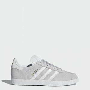 b9a9a90b Кроссовки Gazelle adidas Originals Grey / Cloud White / Cloud White