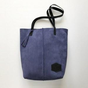 4cf029f5d67b Замшевая сумка-шоппер Tote Lavender Suede