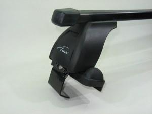 Багажник на крышу LUX Nissan Primera 2001-2007 седан прямоугольные поперечины 1.1м, 690168 691929 690014 (Ниссан Примьера)