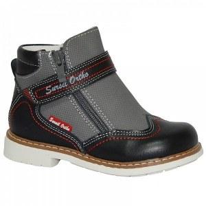 f14242bf2 Детская ортопедическая обувь ботинки демисезонные Сурсил Орто  (Sursil-Ortho) 55-153