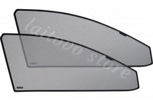 Laitovo Автомобильные шторки Chiko передние на LADA 21214 1G Внедорожник 3D (2001 - н.в.) Нива - без пластиковой заглушки у зеркала заднего вида