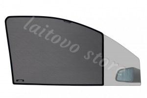 Автомобильные шторки Laitovo передние на LADA 21214 1G Внедорожник 3D (2001 - н.в.) Нива - без пластиковой заглушки у зеркала заднего вида