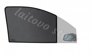 Laitovo Автомобильные шторки Chiko передние на LADA 21214 1G Внедорожник 3D (2001 - н.в.) Нива - с пластиковой заглушкой у зеркала заднего вида