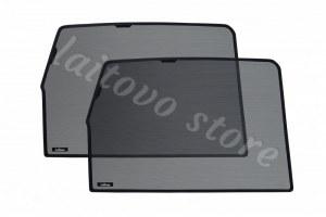Автомобильные шторки Laitovo задние на LADA 21214 1G Внедорожник 3D (2001 - н.в.) Нива - с пластиковой заглушкой у зеркала заднего вида