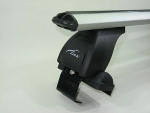 Багажник на крышу LUX Nissan Primera 2001-2007 хэтчбек аэродинамические поперечины аэро (73мм) 1.1м, 690168 690335 690014 (Ниссан Примьера)
