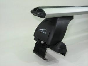 Багажник на крышу LUX Nissan Primera 2001-2007 седан аэродинамические поперечины аэро (73мм) 1.1м, 690168 690335 690014 (Ниссан Примьера)