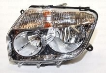 ALRU Фара RENAULT Duster 2020-2020 хром / BOSCH / левая 676512095