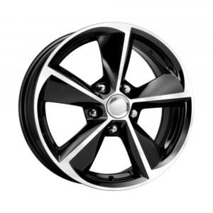 Колесный диск K&K Toyota Corolla 6,5J*R16 5*114,3 ET45 DIA60,1 Алмаз черный