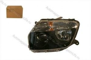 Блок фара Renault Duster левая темный ободок