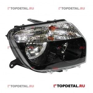 BOSCH Фара головного света левая Renault Duster (Рязань BOSCH) (черный)